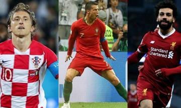 Αυτοί είναι οι 3 υποψήφιοι της UEFA για το βραβείο του καλύτερου παίκτη της χρονιάς