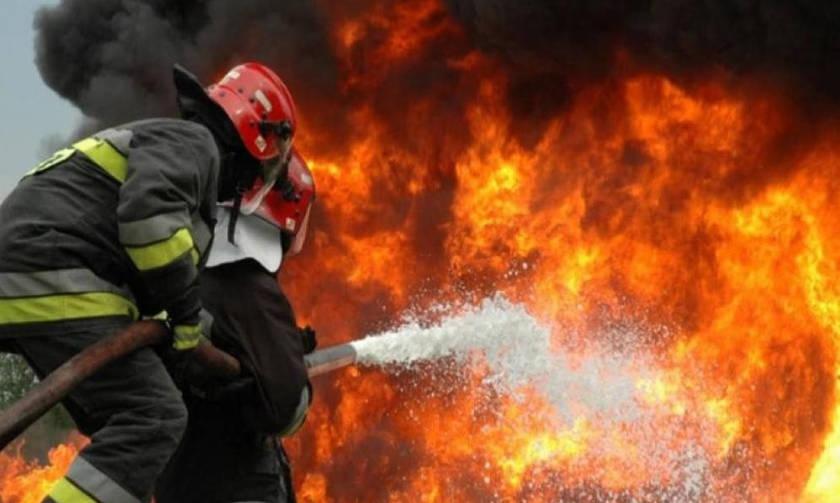Μαίνεται η φωτιά στην Ηλεία- Δύσκολο βράδυ για τους πυροσβέστες
