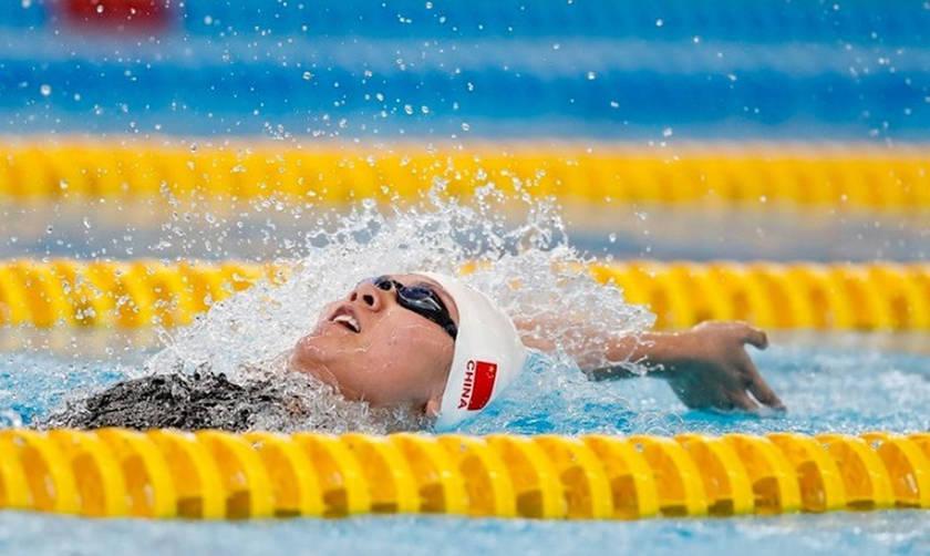 Παγκόσμιο ρεκόρ στα 50 μ. ύπτιο γυναικών