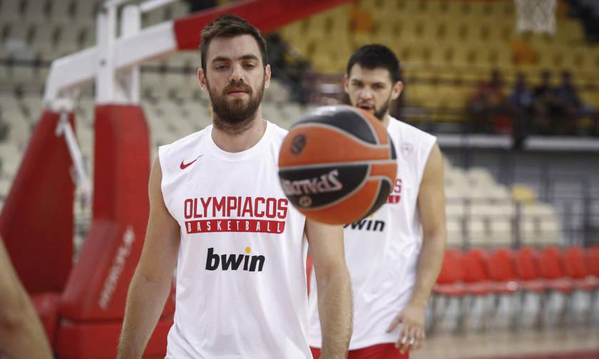 Η προπόνηση του Ολυμπιακού από την κάμερα του fosonline.gr (vids)