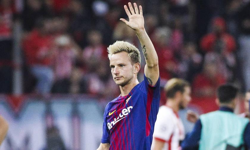 Μήνυμα παραμονής του Ράκιτιτς: «Forca Barca!» (pic)