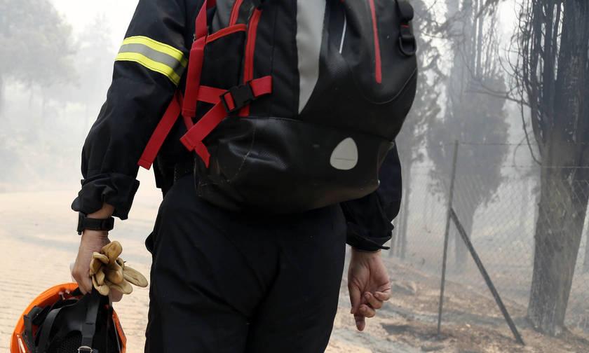 Φωτιά στη Σαλαμίνα- Εκκενώθηκε κατασκήνωση