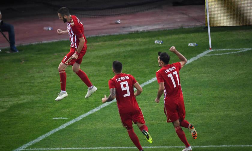Τα γκολ του Ολυμπιακός-Μπέρνλι 3-1 (vid)