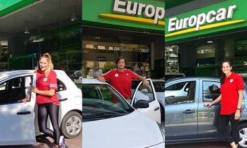 Συνεχίζεται η συνεργασία Ολυμπιακού-Europcar (pics)
