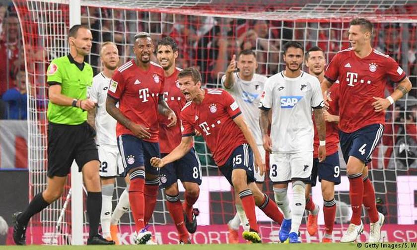 Bundesliga: Πρεμιέρα με νίκη της Μπάγερν κόντρα στην Χόφενχαιμ