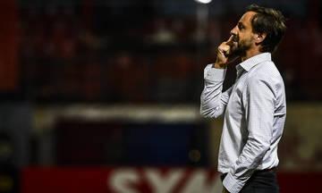 Μάντζιος: «Τυχεροί που δεν δεχτήκαμε και άλλα γκολ»