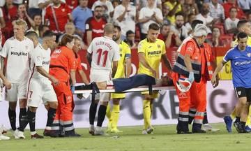 Σοκαριστικός τραυματισμός στο Σεβίλλη - Βιγιαρεάλ (vid)