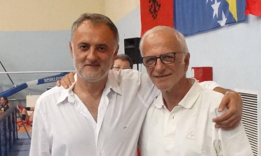 Όταν ο Ιορδανίδης συνάντησε τους Γκάετς και Μέστερ (pics)