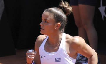 US Open: Στον 2ο γύρο η Σάκκαρη