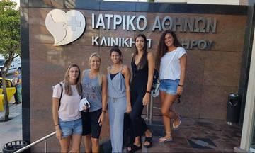 Ολυμπιακός: Ιατρικές εξετάσεις για την Χίπε και τις συμπαίκτρίες της