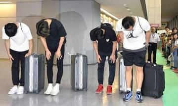Ετήσιος αποκλεισμός σε 4 Ιάπωνες διεθνείς για σεξουαλικό σκάνδαλο