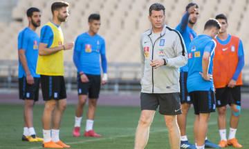 Καρέ ερυθρολεύκων στην Εθνική για τα ματς του Nations League