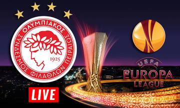 LIVE: Η κλήρωση του Ολυμπιακού για το Europa League