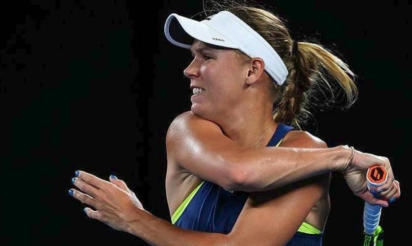 Εκτός US Open και η Καρολίν Βοζνιάκι