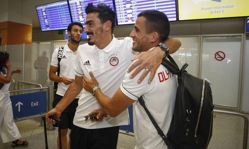 Με χαμόγελα η επιστροφή του Ολυμπιακού (pics)