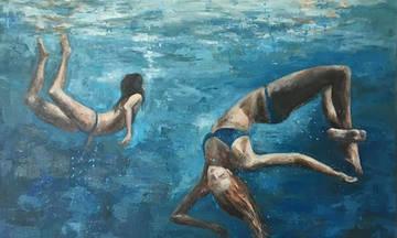 Η τέχνη ταξιδεύει στη Σαντορίνη