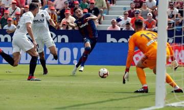 La Liga: Ισόπαλο το ντέρμπι της Βαλένθια (2-2)