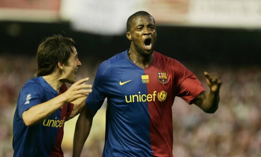 Σαν σήμερα:  Το πρώτο γκολ του Τουρέ με τη Μπαρτσελόνα
