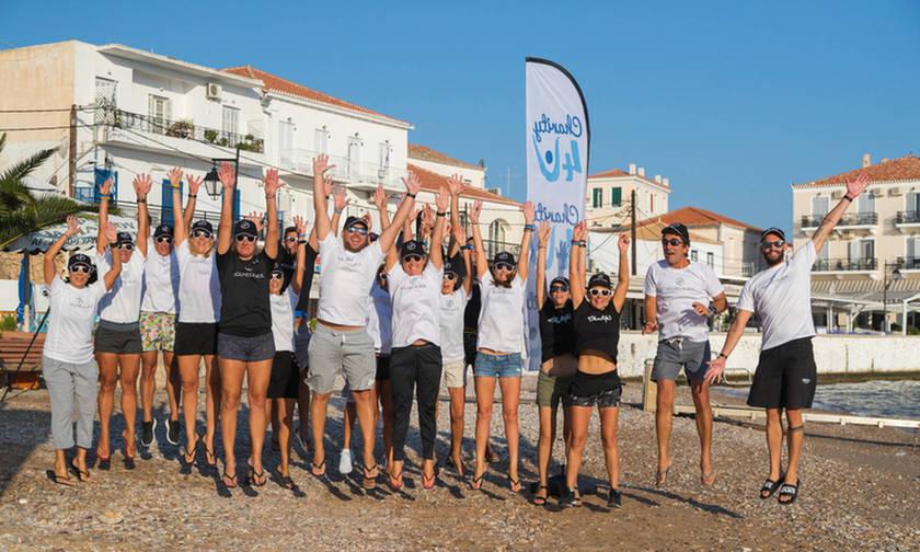 Δυναμική επιστροφή για το Swim Around Spetses (pics)