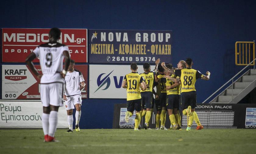 Ο Μοράρ ξανασκοράρει για το 2-0 του Παναιτωλικού (vid)