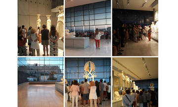 Tα μυστικά των Καρυάτιδων: Νέα βραδινή ξενάγηση στο Nέο Μουσείο της Ακρόπολης!