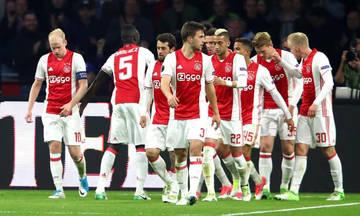 Χωρίς εκπλήξεις η λίστα του Άγιαξ για το Champions League