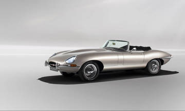 Στην παραγωγή η ηλεκτρική Jaguar E-Type!