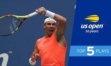 US Open: O Ναδάλ χρειάστηκε σχεδόν πέντε ώρες για να περάσει στα ημιτελικά!