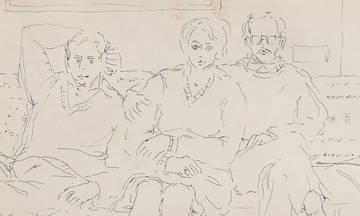 Συνομιλίες με φίλους του Νίκου Χουλιαρά στην Πινακοθήκη Γκίκα