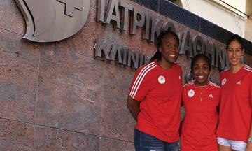Ιατρικές εξετάσεις για Ρασίντ, Τζόνσον και Τόμας στον Ολυμπιακό