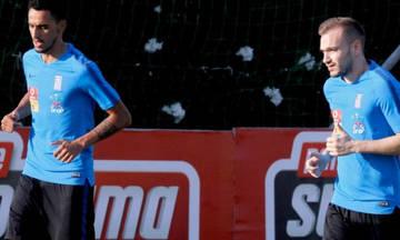 Nations League: Προπονήθηκαν κανονικά οι Ζέκα, Μπακάκης με την Εθνική