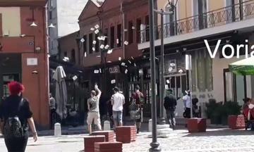 Παρέμβαση του Ρουβίκωνα στο Σύνδεσμο Βιομηχανιών Βορείου Ελλάδος