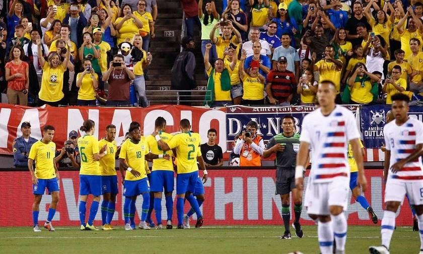 Δεν δυσκολεύθηκαν Βραζιλία, Ουρουγουάη και Κολομβία (vids)