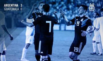 Χωρίς Μέσι η Αργεντινή 3-0 τη Γουατεμάλα