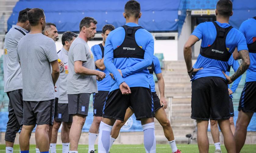 Η 11αδα της Εθνικής με την Εσθονία: Ντεμπούτο ο Μπουχαλάκης