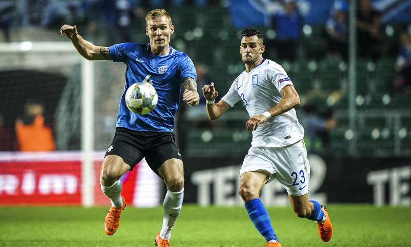 Πρώτο σε τηλεθέαση το ματς της εθνικής με την Εσθονία