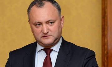 Τρομακτικό τροχαίο για τον πρόεδρο της Μολδαβίας (vid)