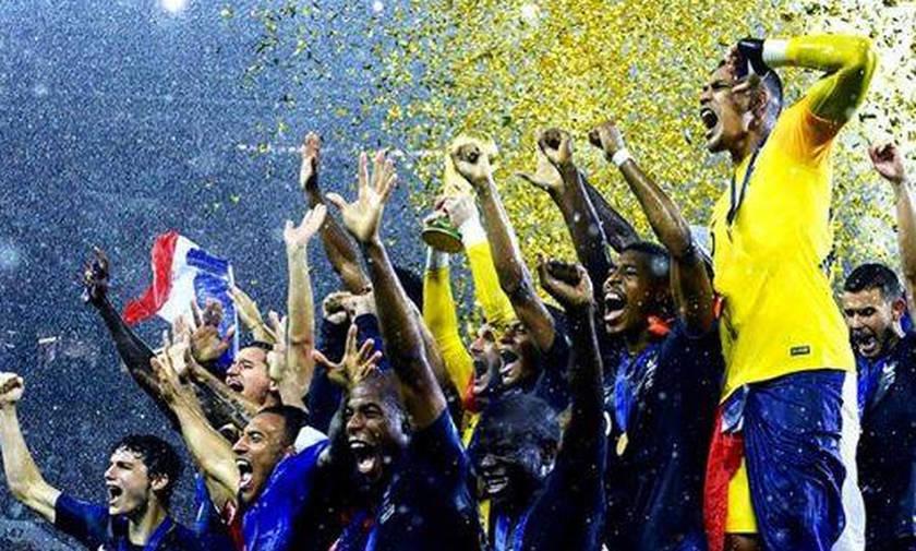 Απίθανο «καλωσόρισμα» για τους Παγκόσμιους Πρωταθλητές στη Γαλλία (pic)
