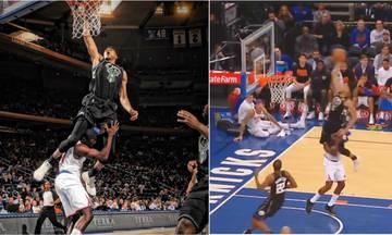 Με Αντετοκούνμπο τα κορυφαία alley-oops του NBA (vid)