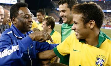 Ο Νεϊμάρ έφτασε τον Πελέ στην εθνική Βραζιλιάς