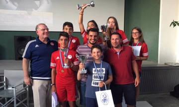 Ιστιοπλοΐα: «Σάρωσε» ο Ολυμπιακός στο Κύπελλο Αρμάτας (pics)