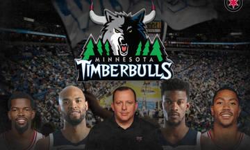 Το NBA τρολάρει τους Μινεσότα Timperbulls...