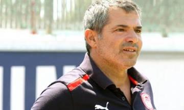 Τέως παίκτης του Ολυμπιακού βοηθός προπονητή στον Αήττητο Σπάτων