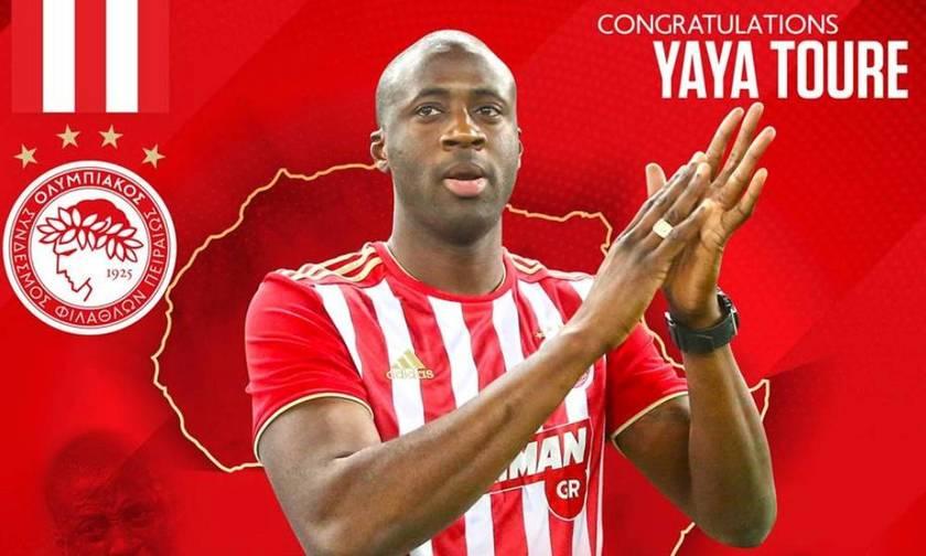 Ολυμπιακός: «Συγχαρητήρια Γιάγια...»
