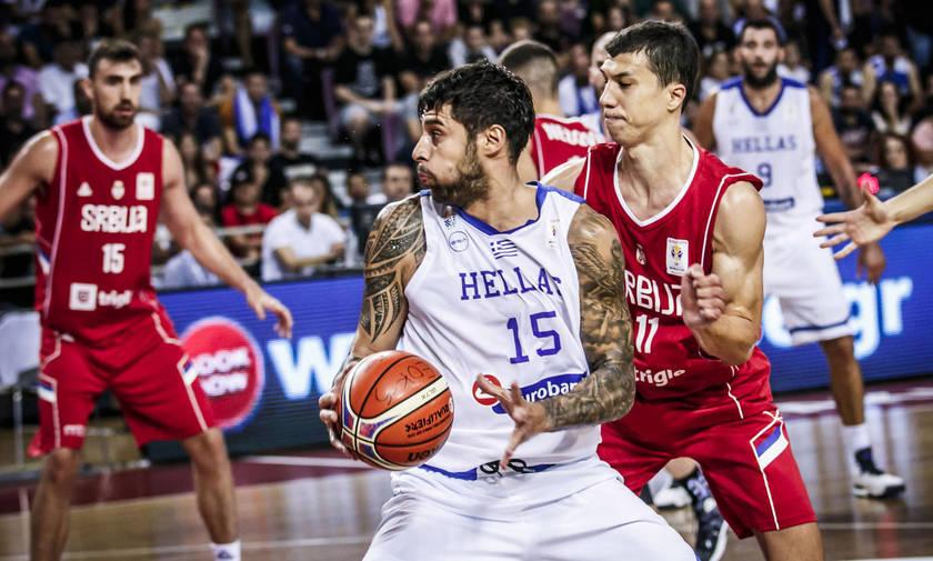 Καθοριστικός ο Πρίντεζης στη νίκη της Ελλάδας επί της Σερβίας με 70-63
