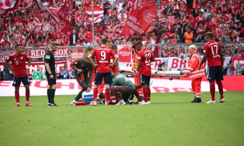 Μπάγερν: Γκολάρα ο Ρόμπεν - Σοβαρός τραυματισμός για Τολισό (vids)