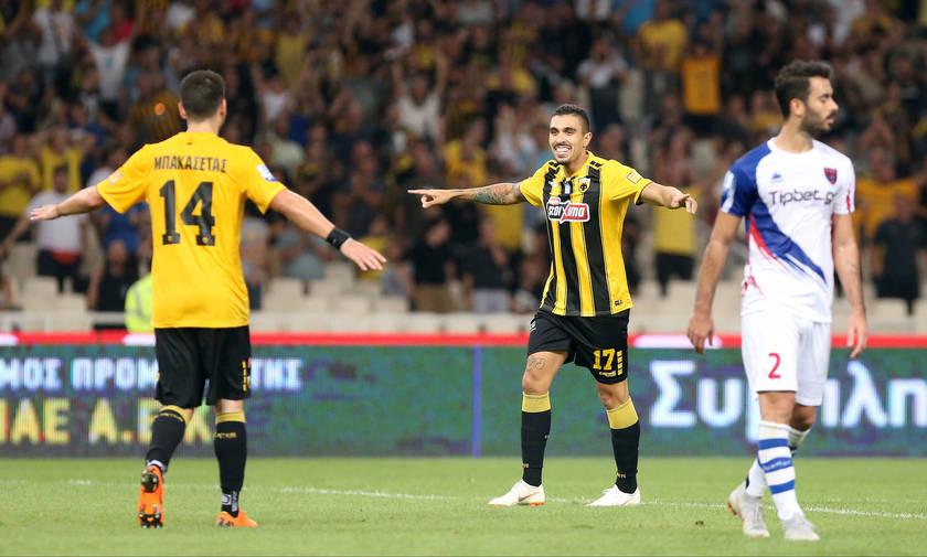 ΑΕΚ - Πανιώνιος 4-0: Νίκη στο ρελαντί