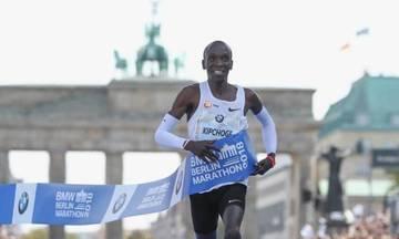 Ασταμάτητος Κιπτσόγκε - Διέλυσε το παγκόσμιο ρεκόρ στον μαραθώνιο