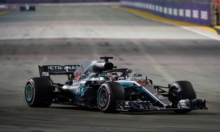 Formula 1: Ο Χάμιλτον πήρε και το GP της Σιγκαπούρης