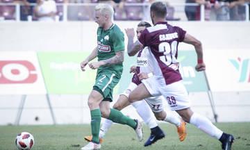 Το γκολ του Γιόχανσον για το 0-1 του Παναθηναϊκού στη Λάρισα (vid)